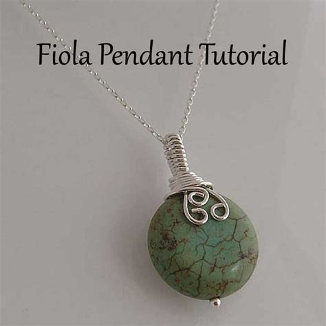wire wrapped pendant tutorial tutorial fiola wire wrapped pendant