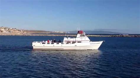 spitfire fishing boat in marina ca