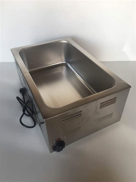 new electric counter top food warmer steam table 1500