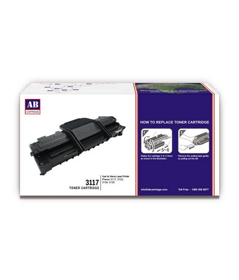 Toner Xerox Phaser 3124 ab 3117 toner cartridge 3117 xerox compatible for phaser