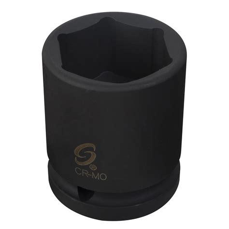 Kunci Sock Impact 1 34 34 Dr Impact Socket Sae Crossman Usa 3 4 drive x 2 1 2 standard impact socket sunex