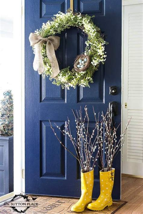 spring wreaths for your front door simply kierste design co 98 best images about front door colors on pinterest red