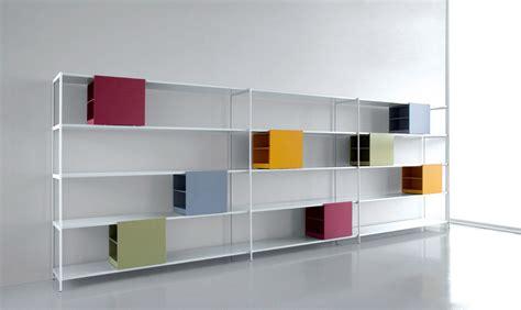 libreria plastica libreria con contenitori colorati estraibili extendo