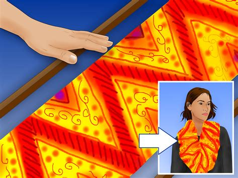 how to paint a silk scarf 10 steps with pictures wikihow