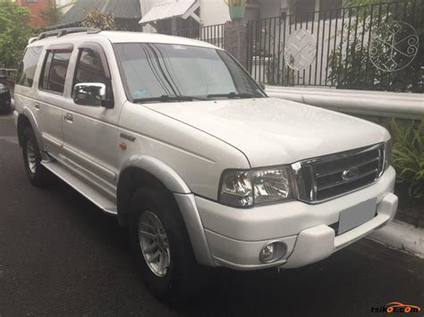 Cover Ford Everest 4x2 Xlt ford everest 2005 car for sale metro manila