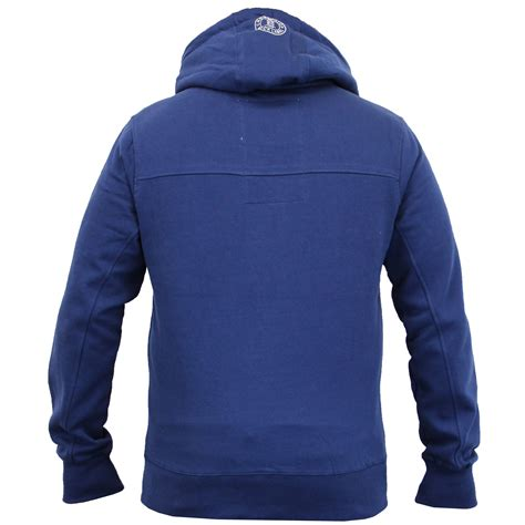 Hooded Fleece Lined Pullover mens sweatshirt crosshatch hooded top sweat pullover