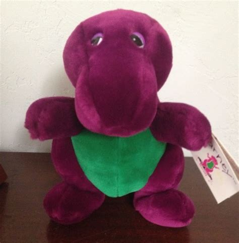 barney backyard gang doll rare barney and the backyard gang plush nwt lyons group