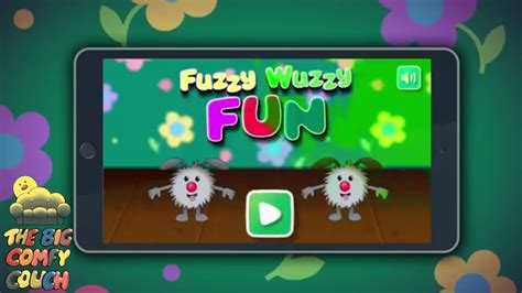 the big comfy couch games the big comfy couch game fuzzy wuzzy fun youtube