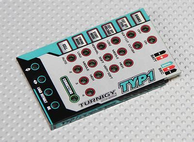 hobbyking boat esc programming card turnigy ty p1 25 brushless esc programming card