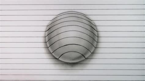 ilusiones opticas hechas a mano c 243 mo dibujar esta incre 205 ble esfera 3d muy f 193 cil