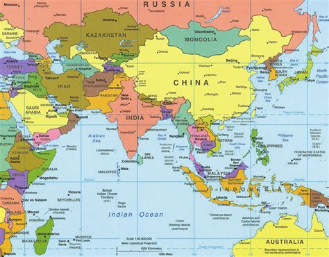 globe map of asia asia idee viaggio