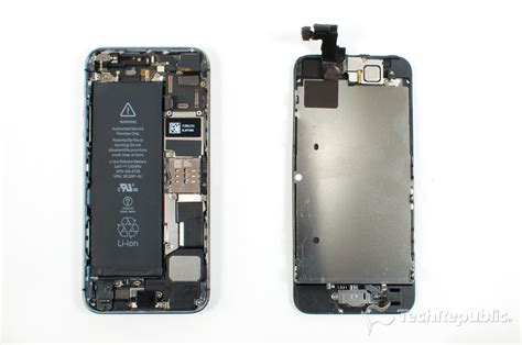 how to open a iphone 5s cracking open the iphone 5s techrepublic