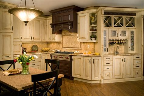 French Provincial Kitchen Cabinets | 18 country style kitchen cabinets home roll top