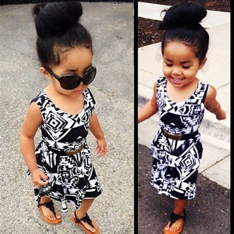 Stripi Dres Black dress girly toddler fashion fashion