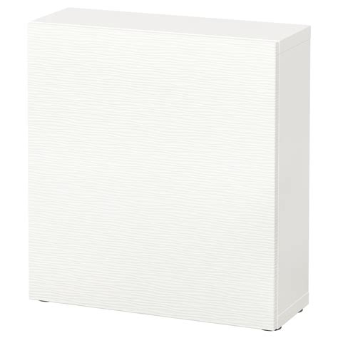 besta 60x20x64 best 197 shelf unit with door laxviken white 60x20x64 cm ikea
