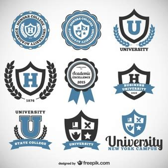 college seal template logo vectors photos and psd files free