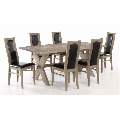 Dining Room Table With 6 Chairs Marceladick Com Table Dining Room Furniture