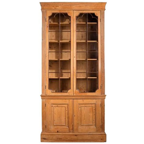 large george iii mahogany pine bookcase for sale at 1stdibs