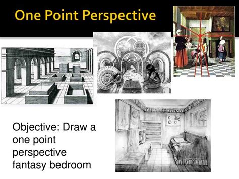 objective create a one point perspective drawing of your ppt landscape linear perspective drawing powerpoint