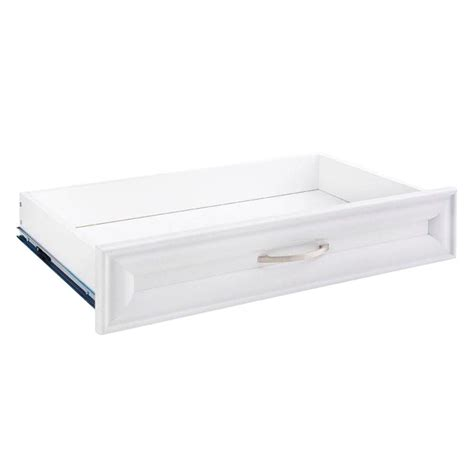 closetmaid selectives 23 5 in x 5 in white decorative
