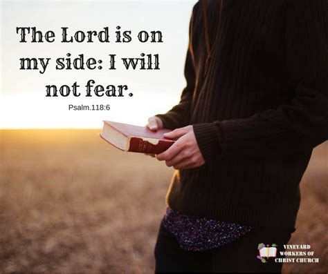 Is On The by I Will Not Fear Vineyard Workers Church