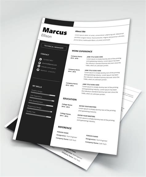 modern resume templates word modern resume template word maxresumes
