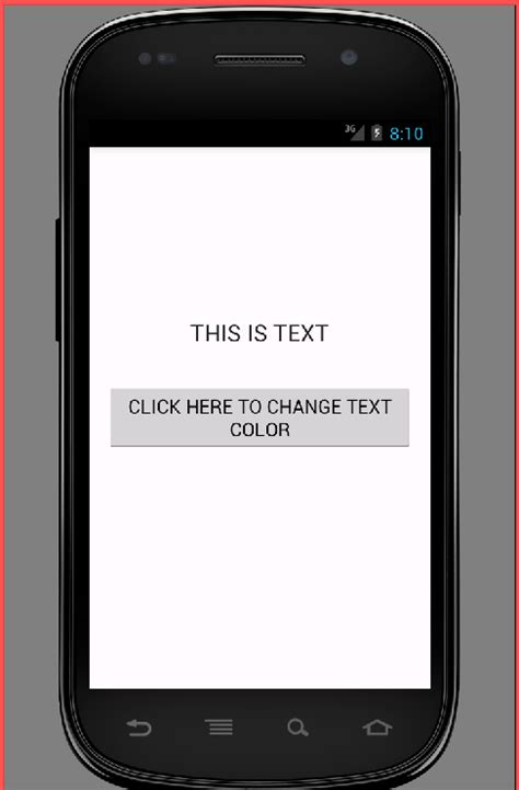 android text color set textview text color in android programmatically