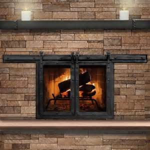 best 25 fireplace doors ideas on brass