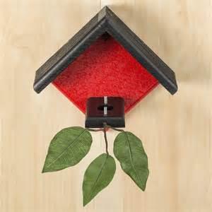duncraft com duncraft little red hummingbird house