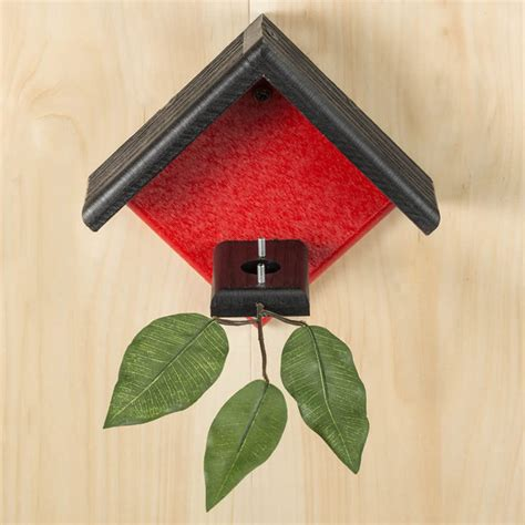 duncraft com duncraft little red hummingbird house