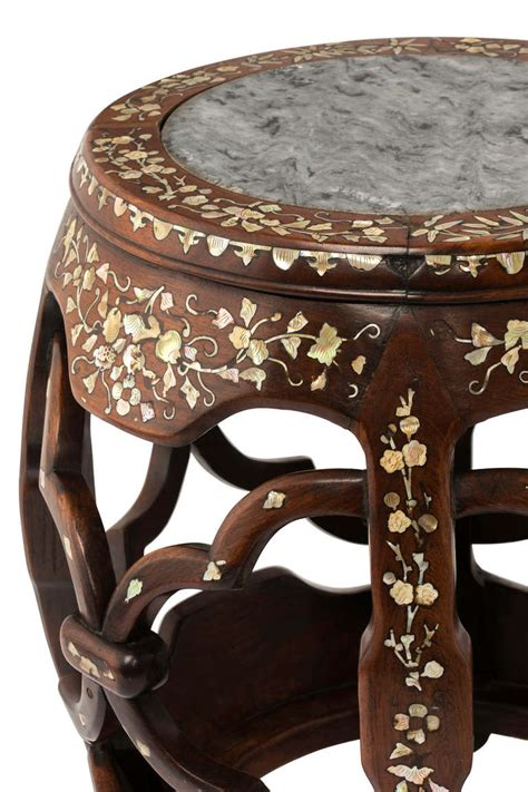 Of Pearl Table L by Of Pearl Inlay Table Stand At 1stdibs