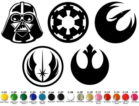 Star Wars Vinyl Decal Sticker Signs Door Car Window