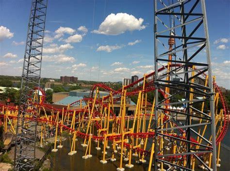 theme park quebec la ronde picture of la ronde amusement park montreal