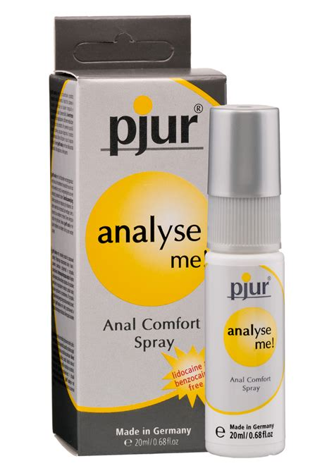comfortable anal pjur analyse me relaxing anal comfort spray 20ml fast