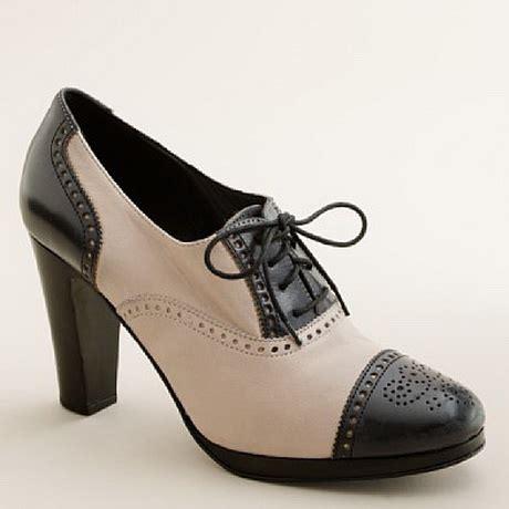 high heeled oxford high heel oxfords