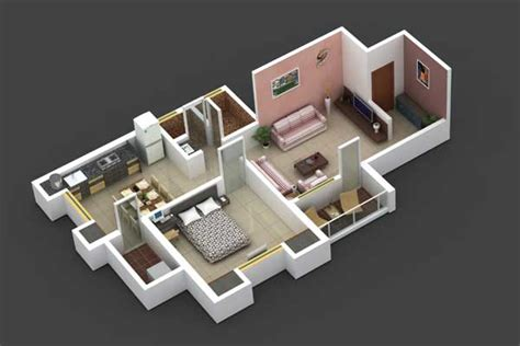 One Bedroom Cabin Plans Sunrise Enclave By Sunrise Builders Amp Developers 1 2 Bhk