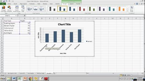 Bar Graph Template Excel by A Simple Bar Graph In Excel