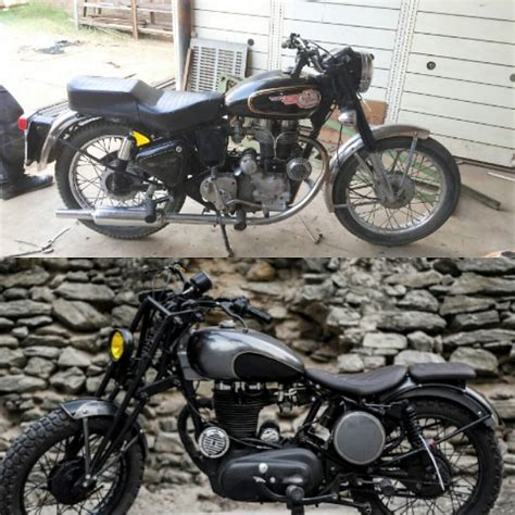 modified bullet bikes modified 1982 royal enfield bullet by imperial customs