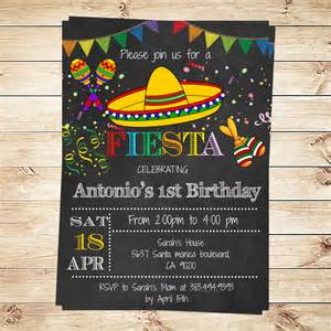 birthday mexican invitations printable