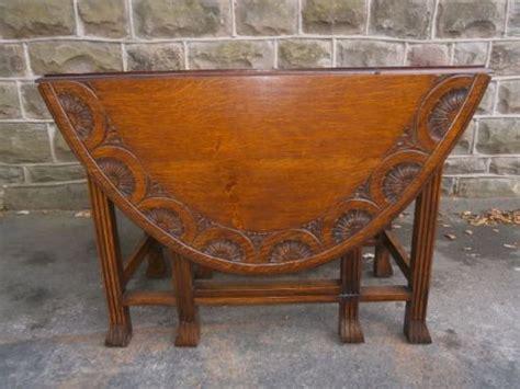 antique drop leaf kitchen table antique carved oak drop leaf dining table kitchen table