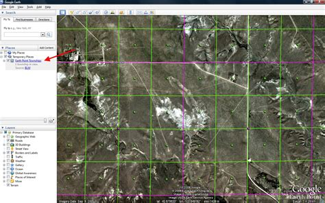section township range google earth earth point blog
