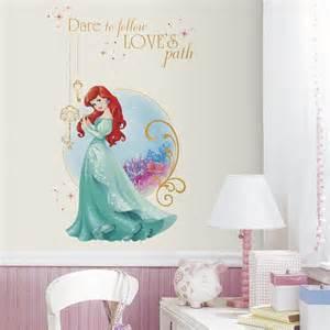 Disney Wall Stickers Disney Princess Ariel Giant Wall Decals Rosenberryrooms Com