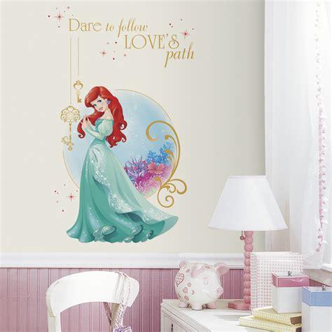 ariel wall stickers disney princess ariel wall decals rosenberryrooms