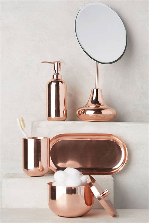 25 best ideas about copper bathroom accessories on