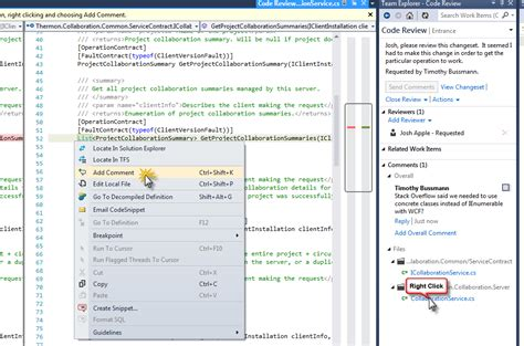 tfs code review workflow visual studio 2012 supports code reviews via tfs 2012
