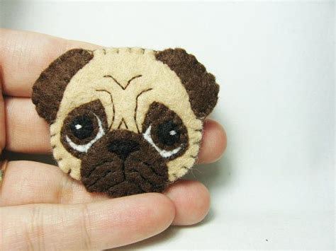 pug craft projects 25 best felt dogs ideas on