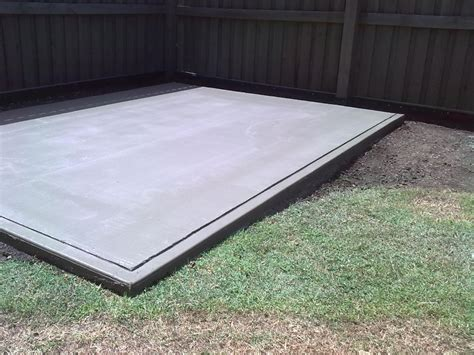 Cement Pad For Shed by Custom Sizes Pads Installs A1 Garden Sheds