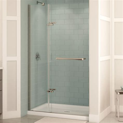 rona bathroom showers quot reveal quot pivot shower door rona