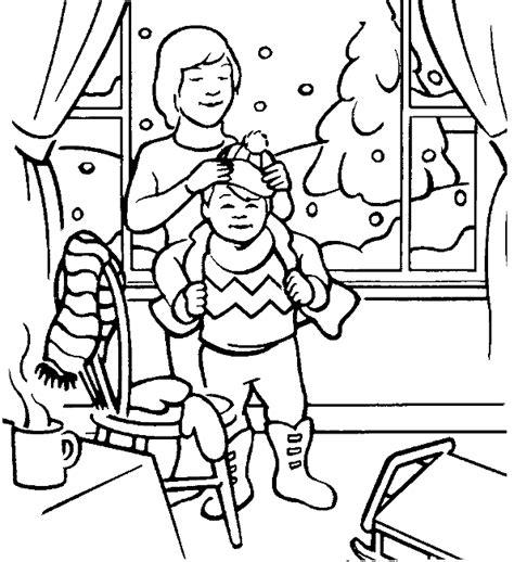 winter kleurplaten winterstorm
