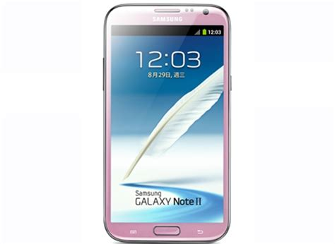 samsung set to launch pink galaxy note 2 in taiwan